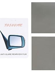 """toshome film anti-éblouissement pour rétroviseurs extérieurs série bricolage (9,84 """"*"""" * 7,87 2pcs)"""