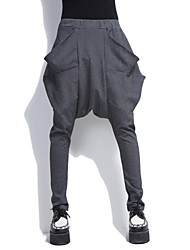 harem pants personalità grande tasca delle donne (più colori)