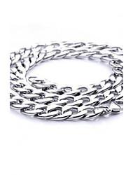 Z&X®  European Style 1.1cm Width Titanium Steel Men's Chain Necklace Christmas Gifts