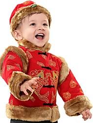 de los niños del estilo chino trajes ambiente festivo piscis outfit