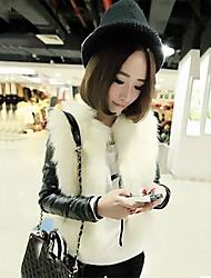 inverno outwear barato plus size fashion faux casaco de pele das mulheres