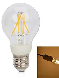 LED Filament Lamps , E26/E27 W 4 Integrate LED 250 LM Warm White V