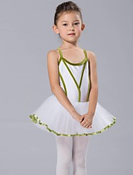 Kids' Dancewear Tops / Dresses&Skirts / Tutus Children's Chiffon / Spandex / Tulle / Velvet Long Sleeve 110:50,120:53,130:56,140:59,150:61