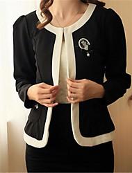 elegante chaqueta delgada de las mujeres