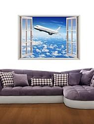 3d наклейки наклейки на стены, рейсы транспорт декор виниловые наклейки для стен