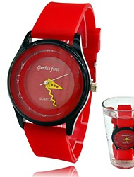 Women's Candy Silicone Waterproof Fashion Sports Wrist Dress Watch (Assorted Colors)