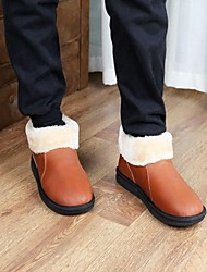 Fashion Leather Warm Men's Slipper Shoes
