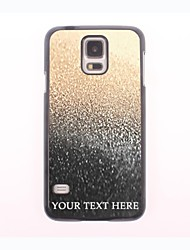 Personalized Phone Case - Drop of Water Design Metal Case for Samsung Galaxy S5