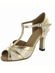 Latin Women's Sandals Stiletto Heel Dance Shoes