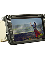 "8"" 2 Din Android 4.4 Dual-Core Car DVD Player for Volkswagen & Skoda Series with BT、iPod、GPS、ATV、Wifi、Canbus、RDS"