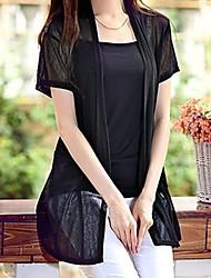 camisas de manga corta de las mujeres delgadas