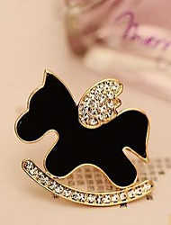 Lucky Doll Women's All Matching Animal Shape Vintage Brooch
