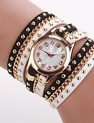 Women's  Small  Round  Dial  Diamante Mushroom Circuit   Flocking  Chain Band Quartz  Watch C&d333 Cool Watches Unique Watches