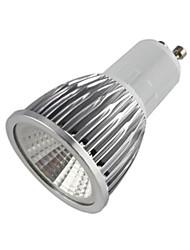 GU10 Spot LED MR16 1 COB 500-550 lm Blanc Chaud AC 85-265 V
