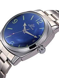 Men's Auto-Mechanical Simple Dial Steel Band Wrist Watch (Assorted Colors) Cool Watch Unique Watch