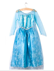 Girls' New Fashion Style Long Sleeve Fairytale Princess Formal Dress