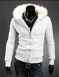 PROMOTION Men's Fur Collar The Hooded Man Who Garments
