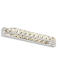 nueva 10w 40cm de largo el cristal llevó lámparas de luz espejos de baño 85-265v