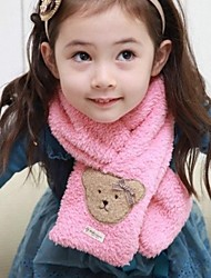 moda dulce de dibujos animados bufandas oso de la muchacha