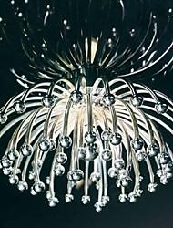 Flush Mount 1 Light Fashion Painting  Metal  Acrylic