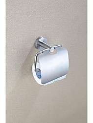 Polished Finish Wire Drawing Stainless Steel Toilet Roll Holder