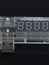 usb corrente de carga / testador de voltagem detector usb voltímetro amperímetro pode detectar dispositivos USB