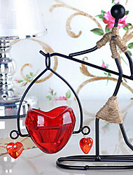 Romantic Irony European Style Retro Candle Holder