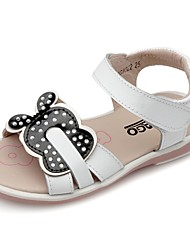 Girls' Shoes Round Toe Flat Heel Leather Sandals Shoes More Color Available