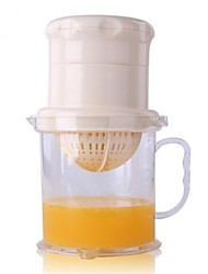Manual Juicer, plástico 18,5 × 10,5 × 4 cm (7,3 × 4,2 × 1,6 polegadas)