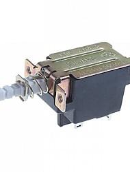 4 pinos interruptor de botão de travamento automático (2pcs)