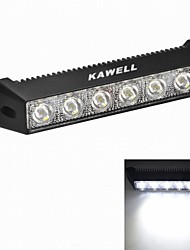 "KAWELL 18W 7.5"" Round CREE LED for ATV/boat/suv/truck/car/atvs light Off Road Waterproof Black Led Work Spot Light"