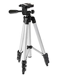 ismartdigi ir-130-sl 4-seção tripé de câmera (prata + preto)