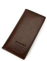 Топ кожаный бумажник муфты воздействия многофункциональный cardbag сетка фото сумка bostanten мужские