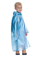 Kid's Hiking Raincoat Portable Rain-Proof Wearable Shockproof Reduces Chafing Transparent N/A Raincoat/Poncho for Camping / Hiking
