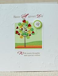 amo mini-árvore milhão graças abençoe cartão