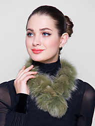 Fur Wraps Faux Fox Rex Rabbit Fur Wraps