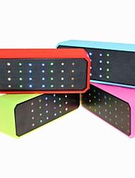 RGB-LED-Großkraft beweglicher drahtloser bluetooth Lautsprecher 3W Stereo-Audio-Sound mit Mikrofon in der Batterie 1500mah gebaut