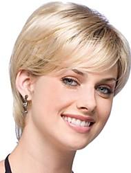cor da mistura sem tampa peruca extra de alta qualidade natural curto cabelo encaracolado sintético com estrondo lado
