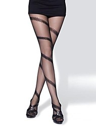 Hosiery Party/Casual Matching Leisure Stripe Pantyhose