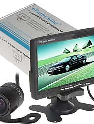 7 Inch 480 x 234 Color TFT LCD Car Rear View DVD VCR Monitor with Car Rear View Waterproof Camera