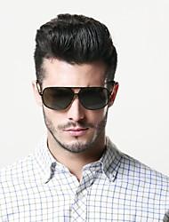 Polarized Men's Aviator Alloy Retro Sunglasses