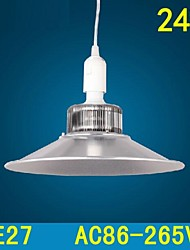 24w E27 LED Mining Lamp LED Pendant Light Workshop Droplight SMD5730 AC85-265V