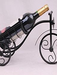 Винтажный дизайн стали винный шкаф держатель для бутылок дисплей бар декор