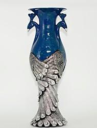 """12.6 """"h retro vaso de resina Phoenix dupla decorações de mobiliário de casa"""