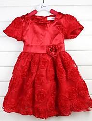 vestido de la muchacha del vestido del verano de la princesa vestido de la muchacha