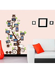 stickers muraux, stickers muraux de style photo arbre pvc stickers muraux