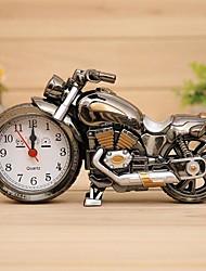 mode rétro personnalité alarme de moto horloge