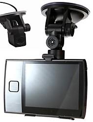 """3,5 """"120-Grad-Dual-Kameras Autofahren Recorder DVR Nachtversion Zyklus Aufnahme 30fps"""