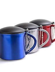 Aluminium Alloy Cup Blue / Red / Silver Single
