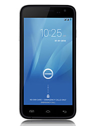 "DOOGEE VOYAGE DG310 5.0 "" Android 4.4 Smartphone 3G (Due SIM Quad Core 5 MP 1GB + 8 GB Nero / Bianco)"